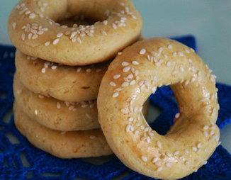 Кулуракя (Кουλουράκια)-греческое апельсиновое печенье