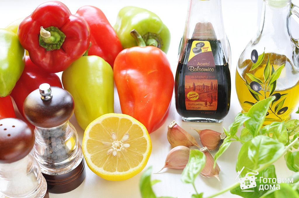 Запеченный перец в маринаде - пошаговый рецепт с фото на Готовим дома