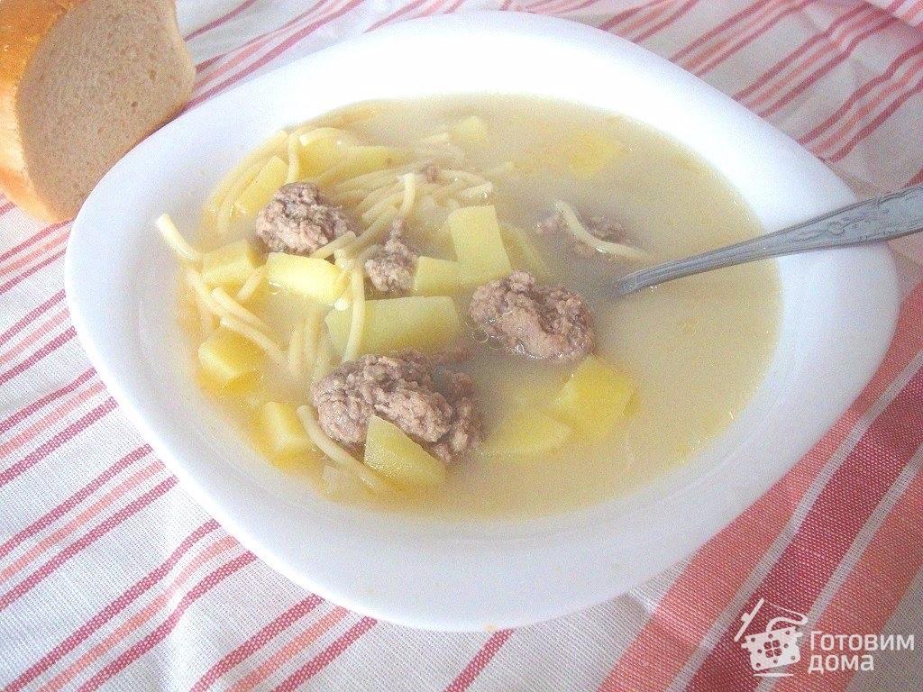 молочный суп с фрикадельками рецепт