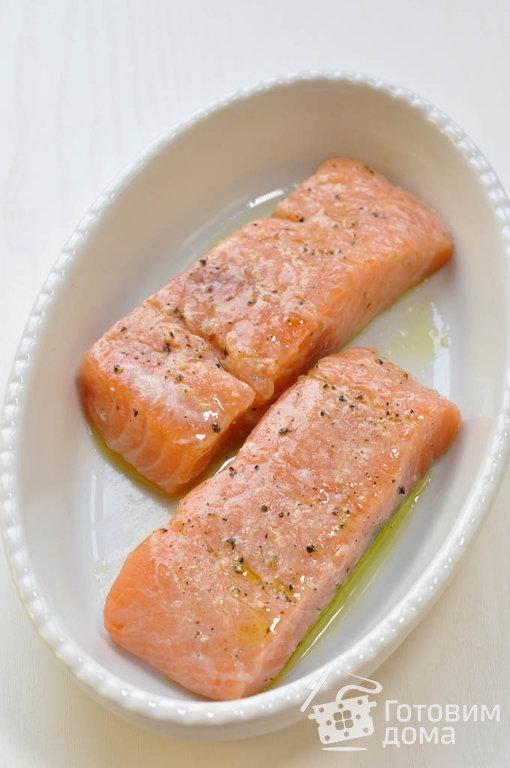 Сибас в сливочном соусе с красной икрой и шампанским рецепт