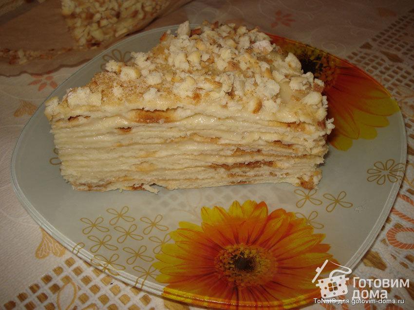 торт творожный наполеон рецепт
