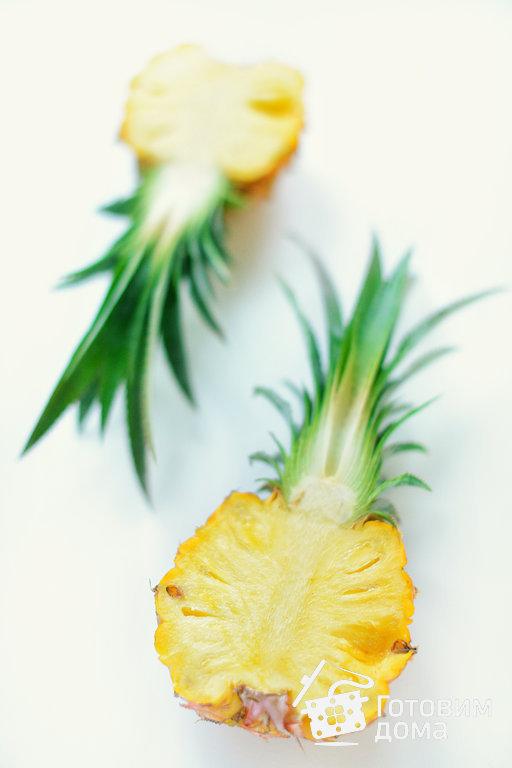Фруктовый салат в ананасе - пошаговый рецепт с фото на Готовим дома