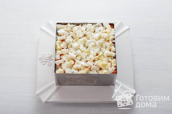 Оливье с курицей фото к рецепту 7
