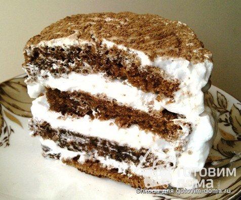крем для торта белковый рецепт