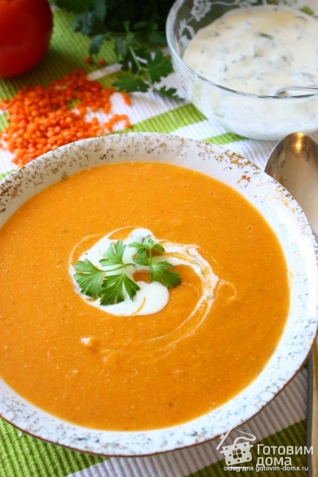 суп из чечевицы пюре рецепт с фото