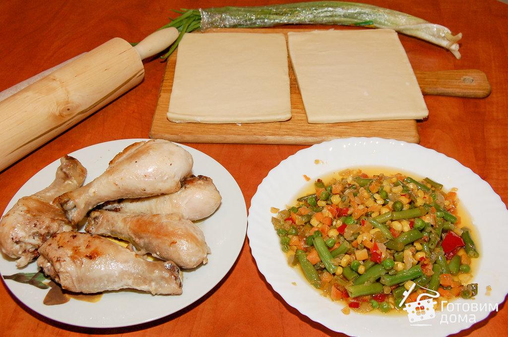 Домашняя лапша с курицей и овощами рецепт с фото