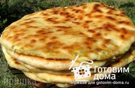 Рецепт хачапури сыром кефире фото