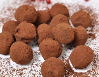 Шоколадные трюфели (конфеты)