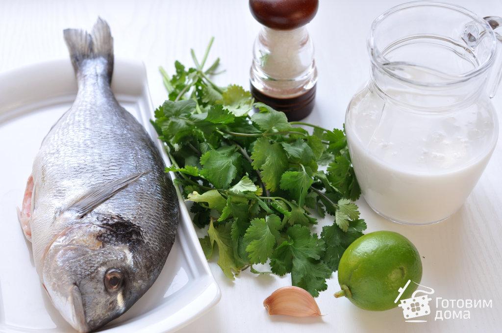Рыба в кокосовом молоке с лаймом и кинзой - пошаговый рецепт с фото на Готовим дома