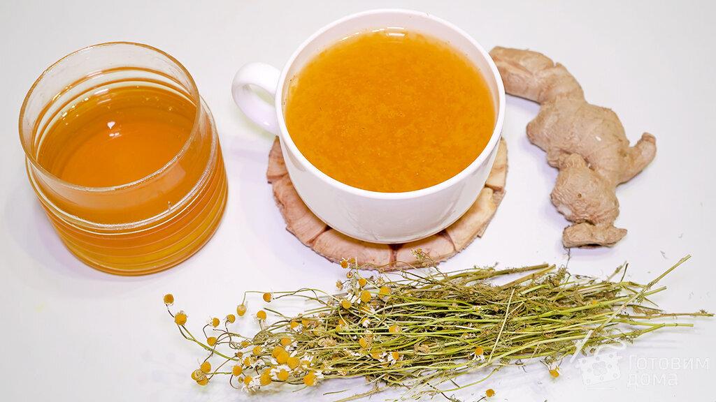 имбирь с чаем рецепт
