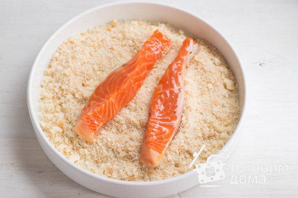 Филе лосося в панировке (от Джейми Оливера) фото к рецепту 5