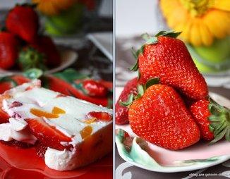Клубнично-персиковый террин