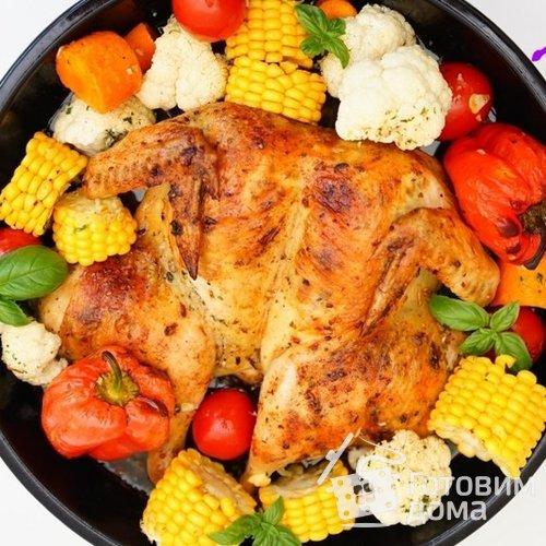 Курочка сочная с овощами рецепт