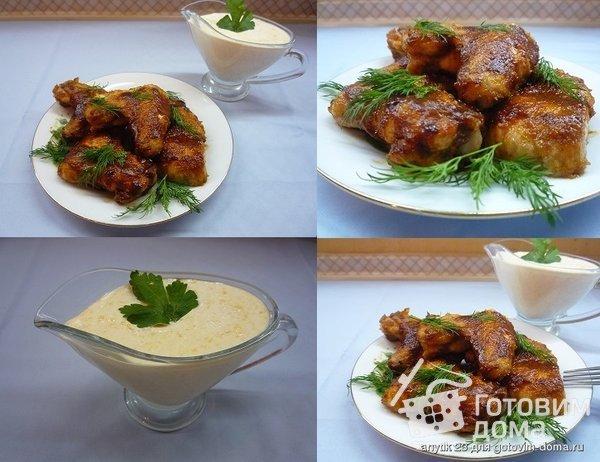 Острые куриные крылышки Баффало фото к рецепту 6