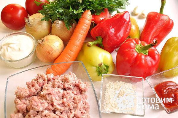 Перец, фаршированный мясной начинкой фото к рецепту 1