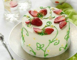 """Торт """"Лика"""" с лимоном и клубникой"""