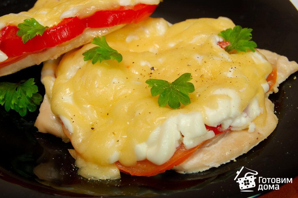 Мясо по-французски с помидорами 65