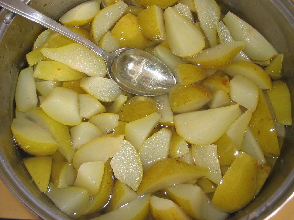 Как приготовить варенье из груш