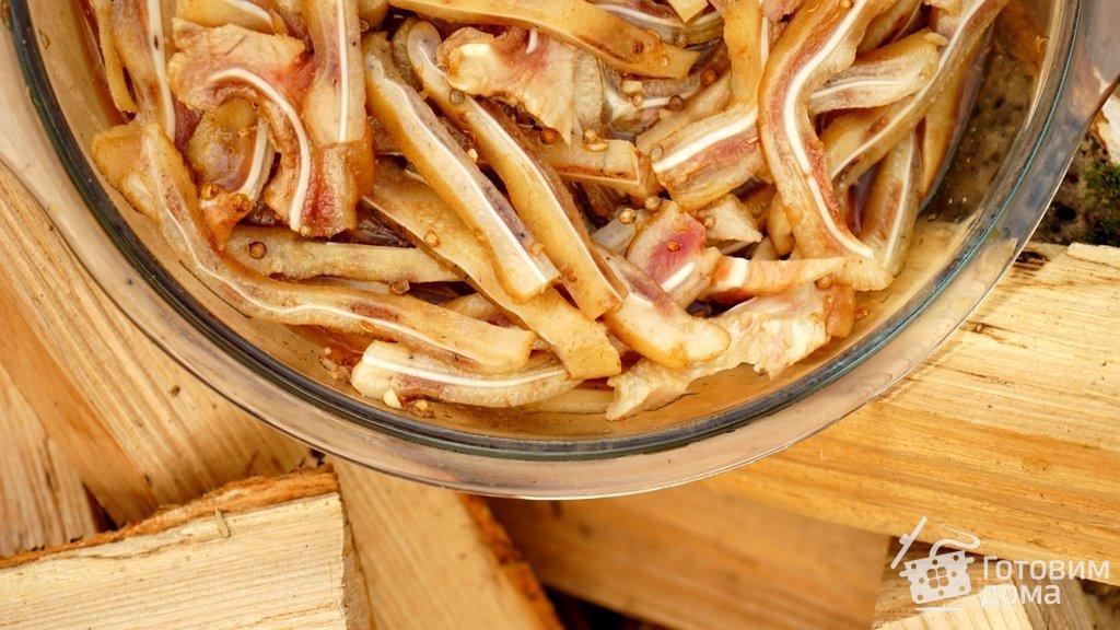 рецепты свиных ушей по корейски
