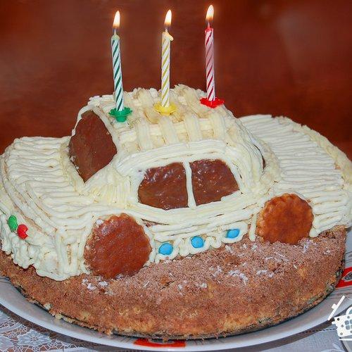 детский торт машинка рецепт