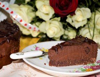 Постный шоколадный торт (без масла)