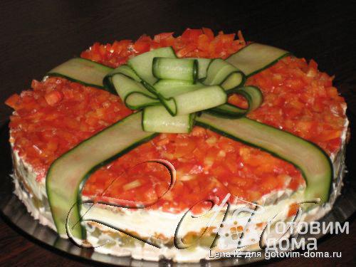 Украшения салатов фото и рецептом