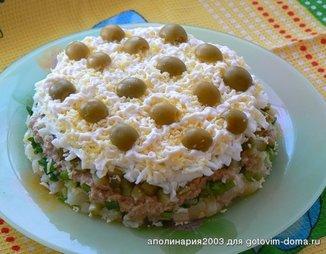 Салат из печени трески яйца кукуруза картофель — pic 10