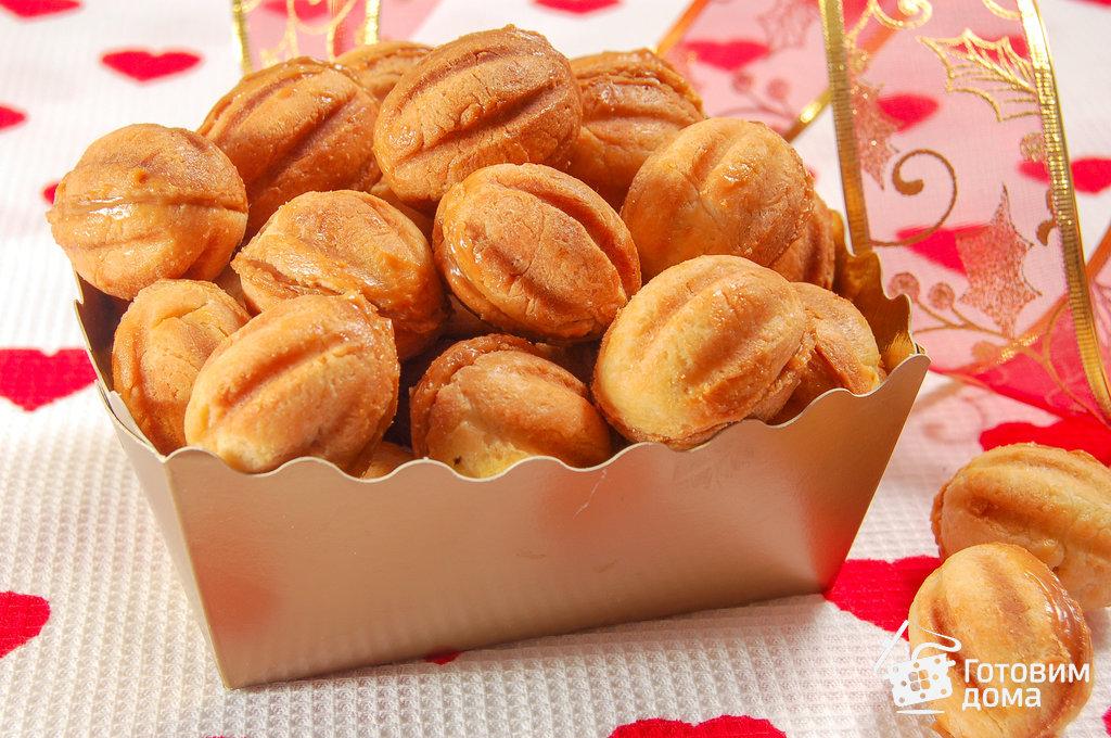 рецепт песочные орешки