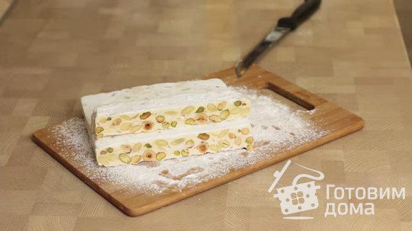 Классическая итальянская нуга - Torrone фото к рецепту 6