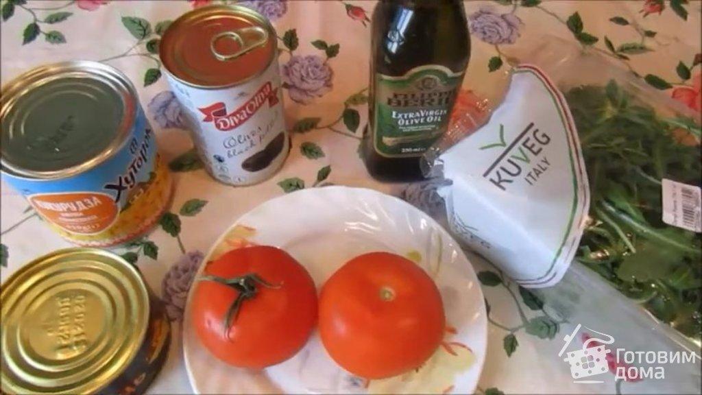 Диетический салат с тунцом консервированным:пп-рецепты для ... | 576x1024