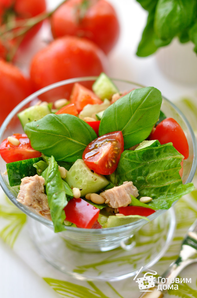 Какие овощи в салате