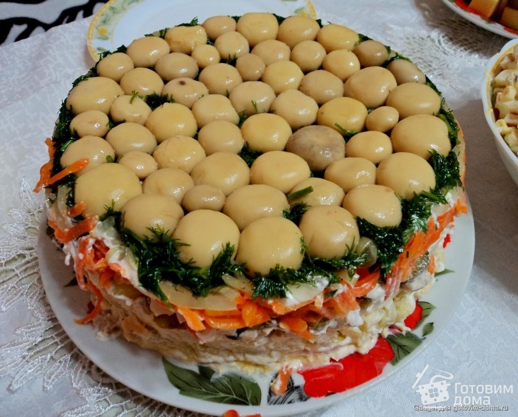 салат смертельный рецепт с фото