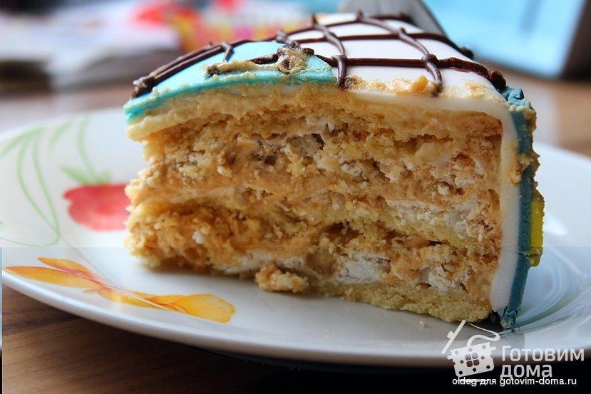 Торт воздушный сникерс рецепт приготовления фото