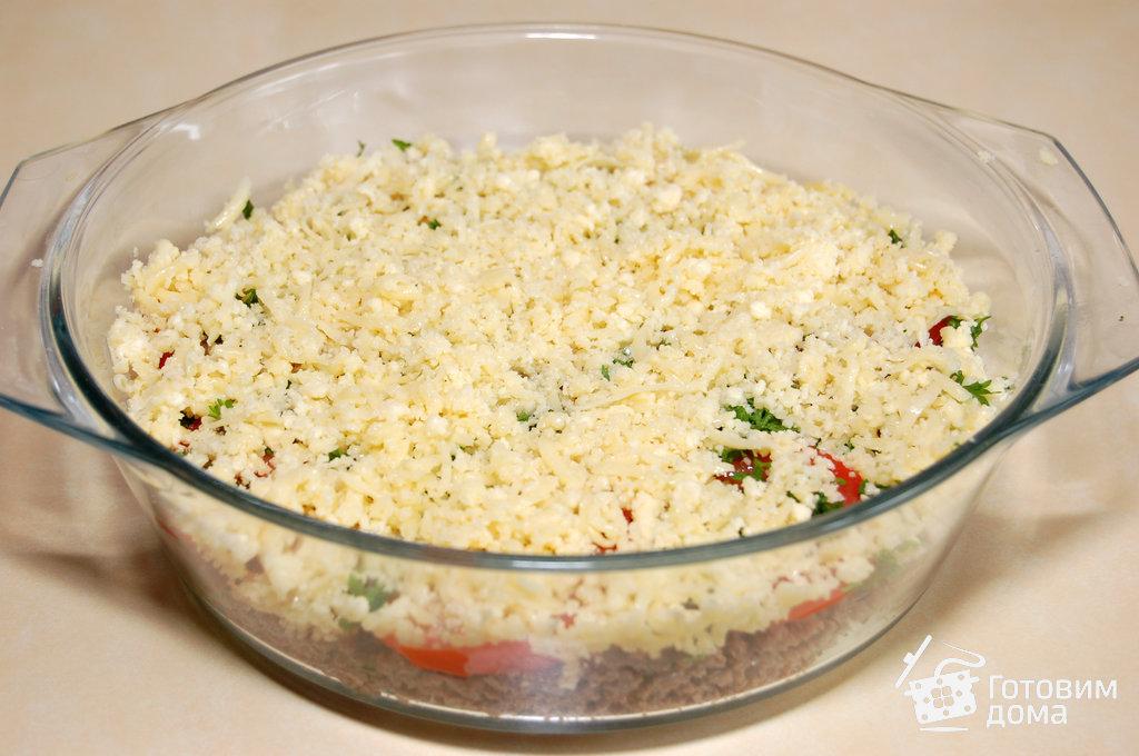 Мясная запеканка с овощами пошаговый рецепт
