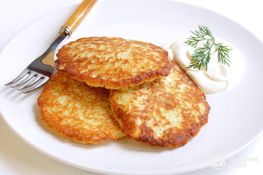 Рецепт вкусных картофельных драников