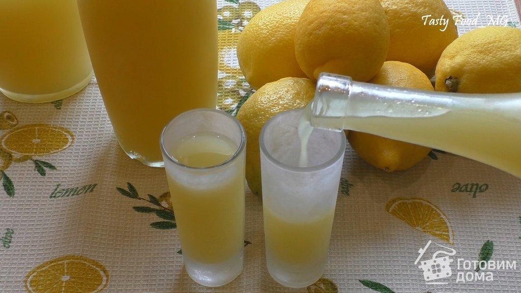 лимончелло сицилийский лимонный ликер пошаговый рецепт с фото на готовим дома