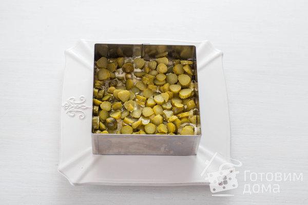 Оливье с курицей фото к рецепту 3