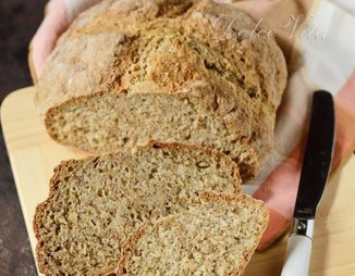 Irish Brown Soda Bread - Ирландский содовый хлеб