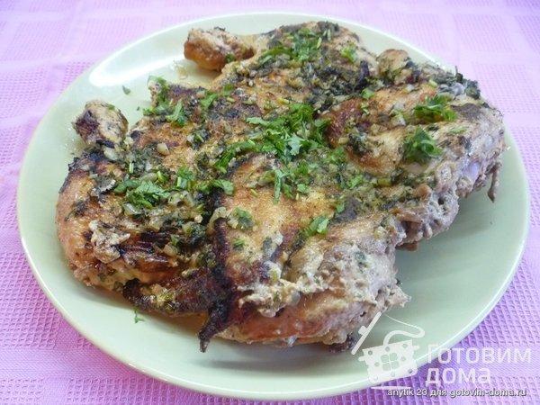 Чкмерули - курица по-грузински фото к рецепту 8