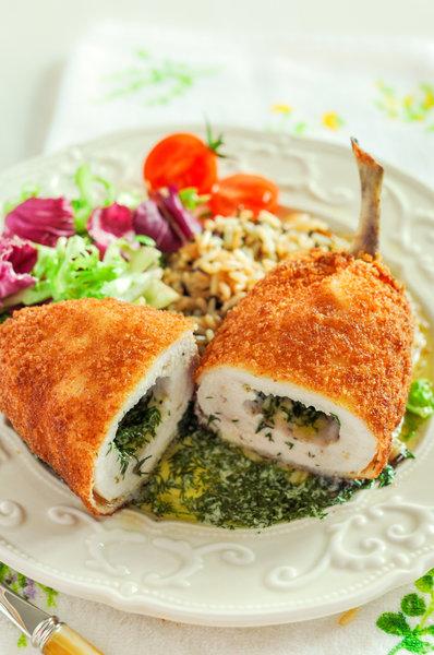 куриные котлеты по киевски с сыром рецепт с фото