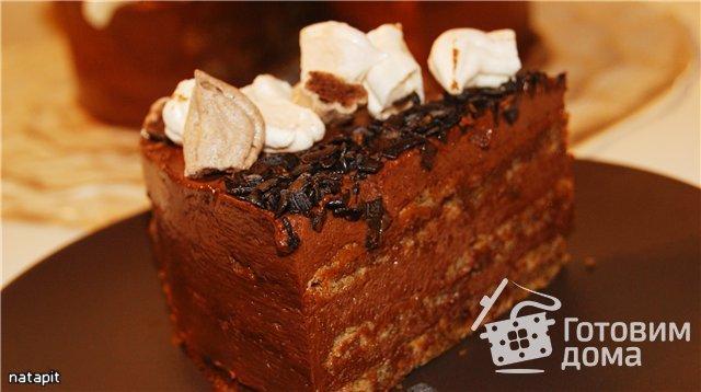 шоколадный ореховый торт без муки рецепт пошагово с фото