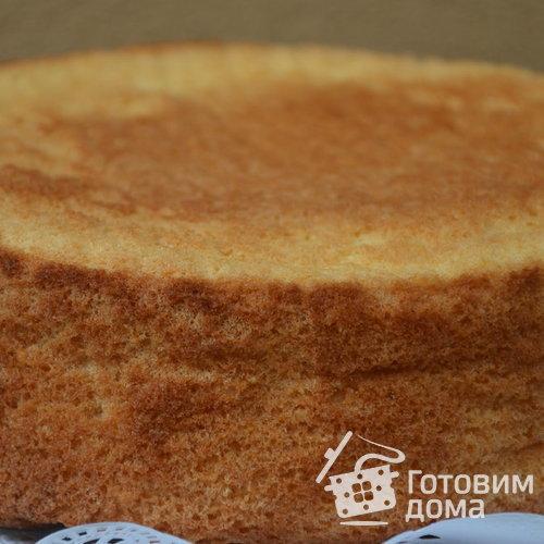 рецепт бисквита для торта в духовке пошаговый
