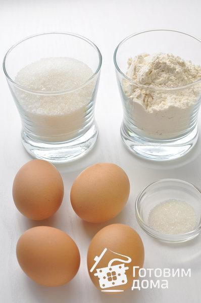 Бисквит классический фото к рецепту 1