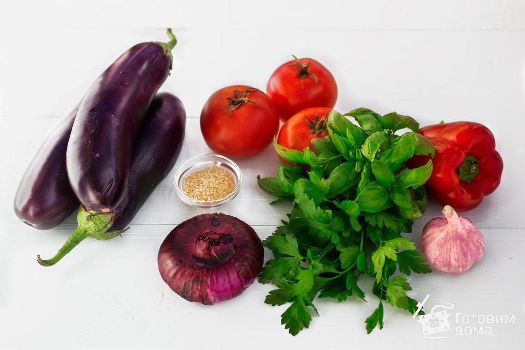 Баклажаны, запеченные с томатами и болгарским перцем - пошаговый рецепт с фото на Готовим дома