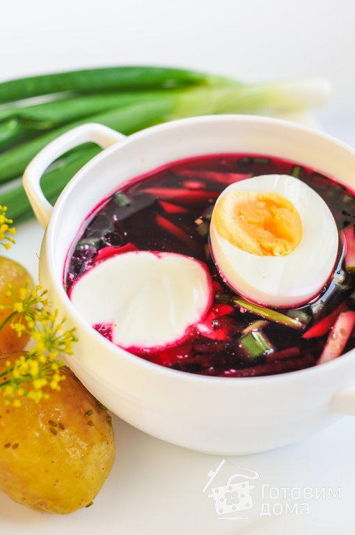 суп на свекольном отваре рецепт