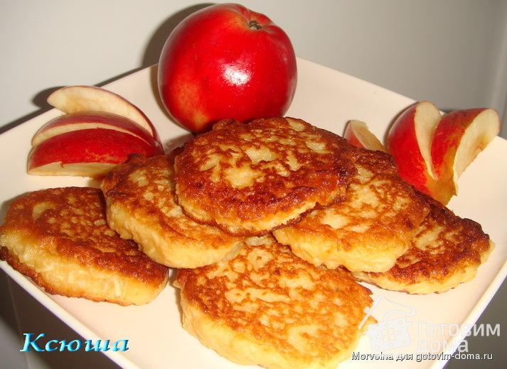 Яблочные блин рецепт