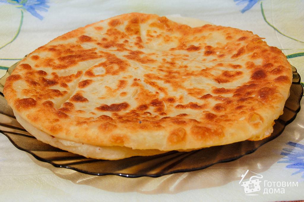 хачапури с тертым сыром рецепт с фото