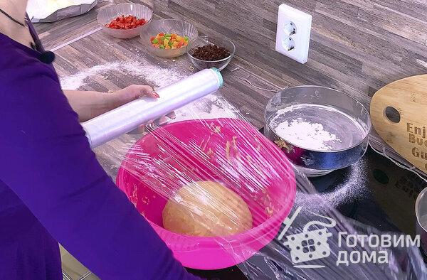 Пасхальный кулич Краффин [По авторскому рецепту Люда Изи Кук] фото к рецепту 6