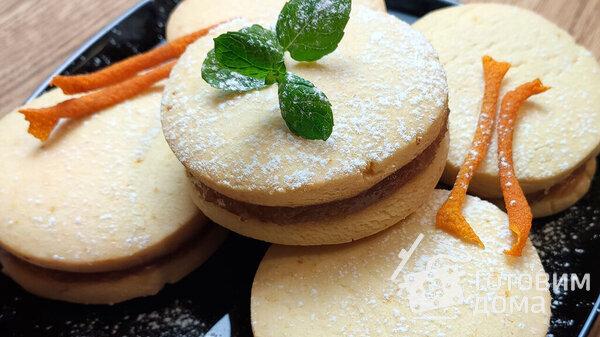 Рассыпчатое печенье с яблочным повидлом: полюбят дети и взрослые (Фото)