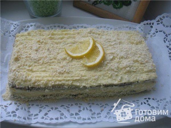 "Маковый торт ""Царица Эстер"" фото к рецепту 5"
